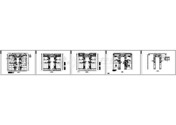 厂房电气施工图-图一
