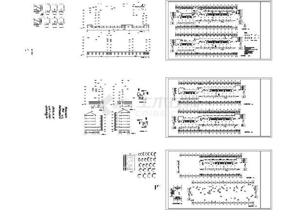 某六层砖混结构学生宿舍楼建筑方案图-图二