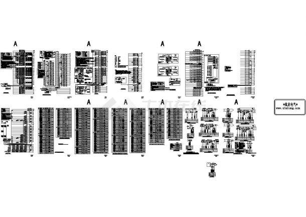 某工程全套智能化弱电系统图设计dwg-图一