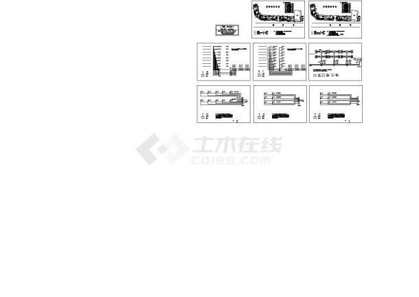 某智能化小区弱电系统设计cad全套施工图(含监控系统、门禁系统、可视对讲系统等设计)-图一