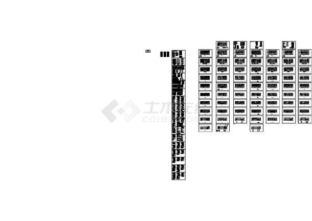 [新疆]医院门诊综合病房楼强弱电施工图.87张(新火规 新照明)-图一