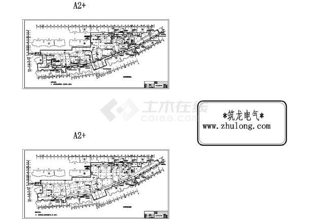 [重庆]某住宅小区全套智能化弱电系统施工CAD图纸设计-图一