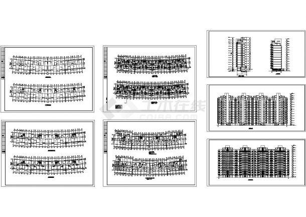 某高层住宅楼建筑设计方案-图一