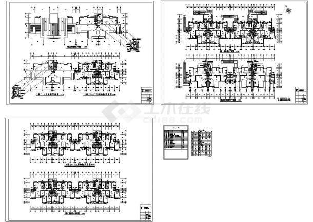 某29层高层住宅给排水设计CAD-图二