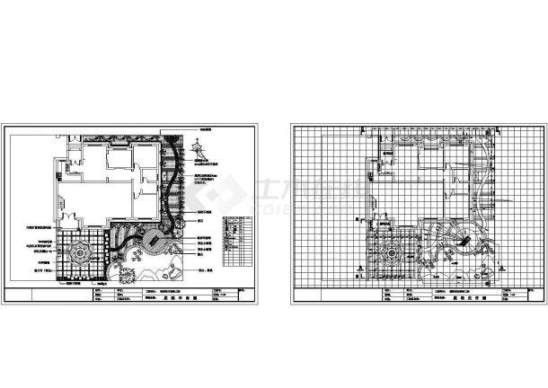 私人别墅庭院景观设计-图一