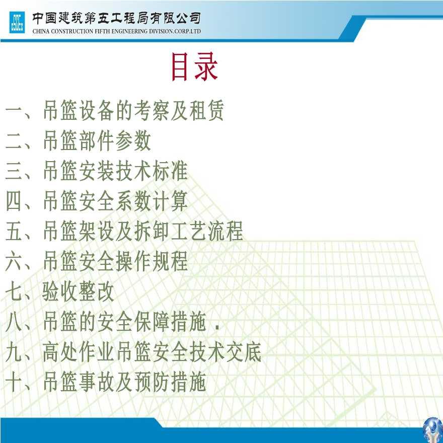 知名国企高处作业吊篮安全知识培训课件-图二
