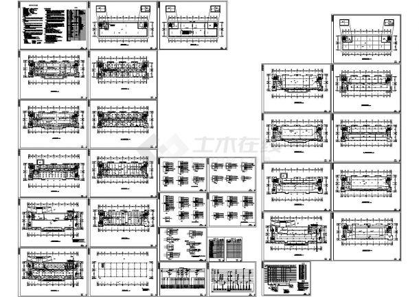 某高层办公楼电气施工图(含设计说明)-图一