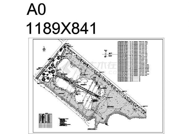景观工程电气设计图-图一