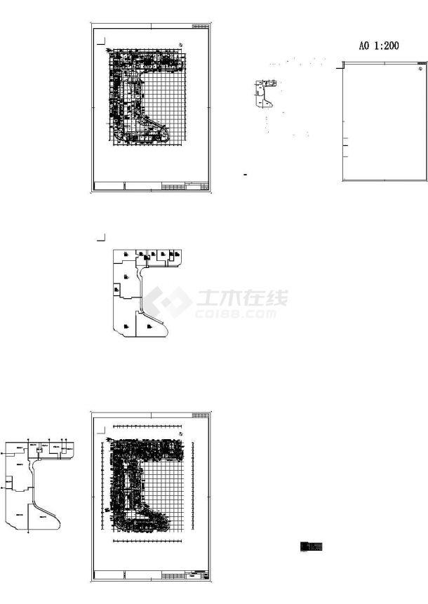 [江苏]某地商业国际广场通风空调及防排烟系统设计施工图(最新设计)-图一