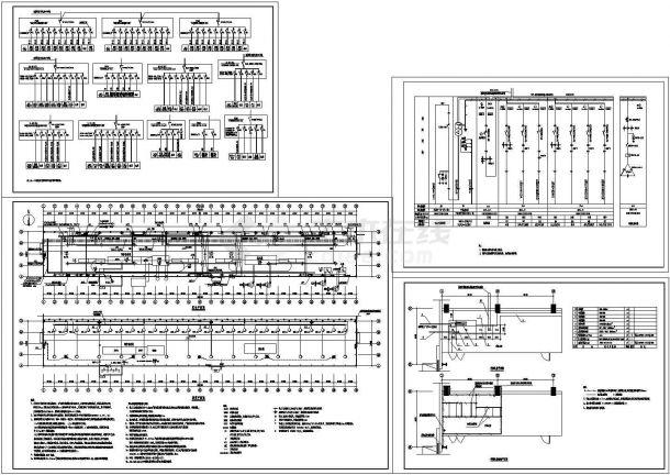 工业厂房电气设计施工图纸-图一