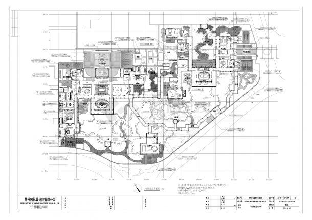 [杭州]中式住宅庭院景观扩初设计方案-图二