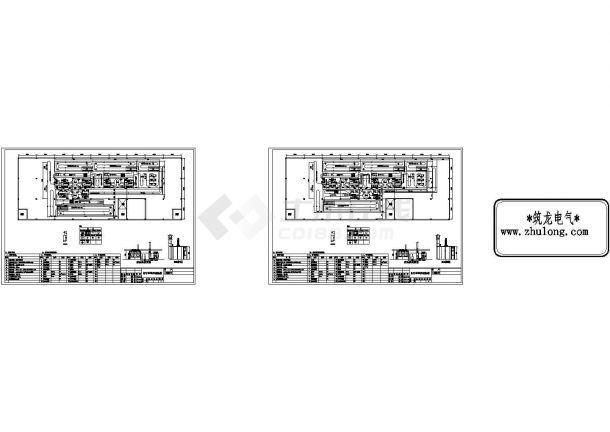 某车间涂装生产线cad详细设计平面布置图-图二