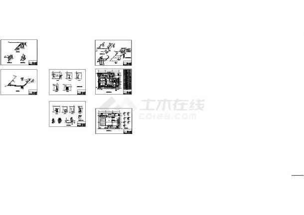 徐州某大学游泳馆采暖通风设计图纸-图二