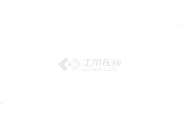 长沙高新区园林绿化设计图(cad)-图二