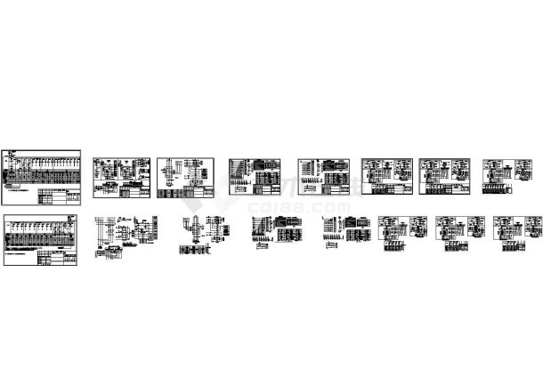低压成套配电柜电气原理图样.共十六张-图一