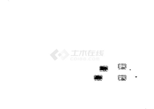 武汉某地区欧式低调奢华私人别墅装修设计CAD施工图-图二