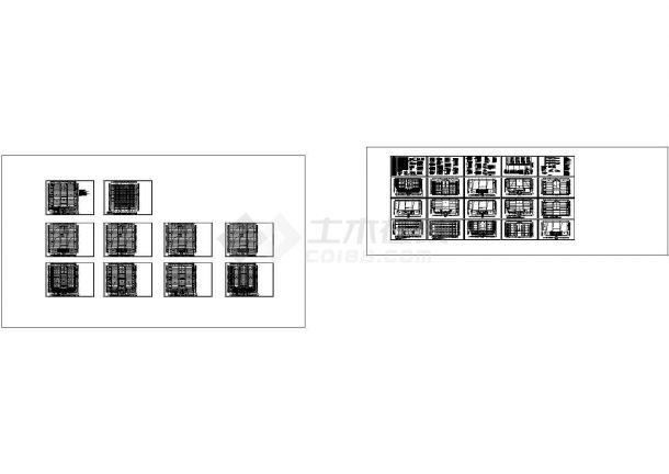 某厂区一大型电子厂房电气设计图(新火灾报警系统+水炮控制原理)-图一
