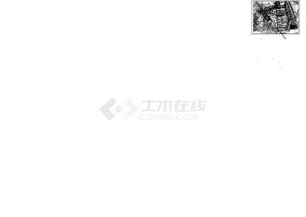 河道整治工程施工图(围护施工)(cad,四张图纸)-图一