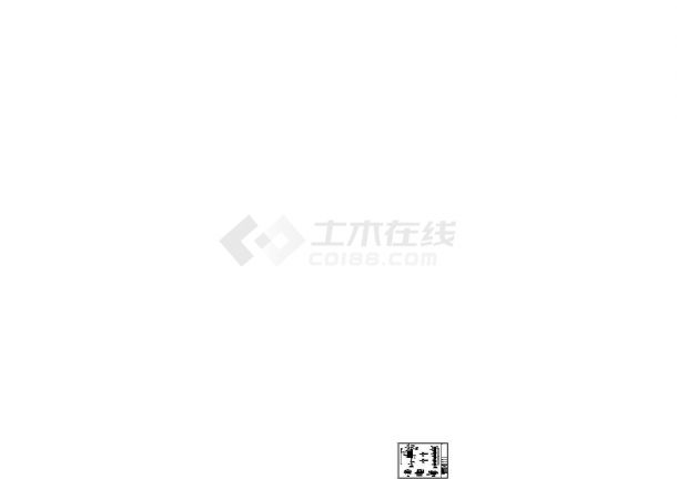 河道整治工程施工图(围护施工)(cad,四张图纸)-图二