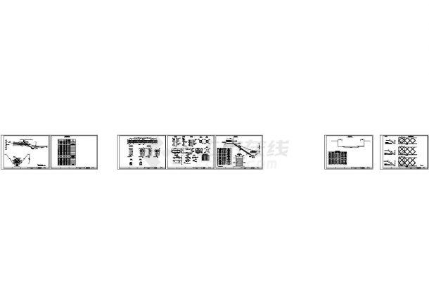 [四川]河道整治工程竣工图纸(堤防工程 污水管道工程)-图二