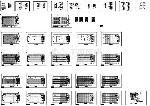 某厂房电气施工图纸-图一