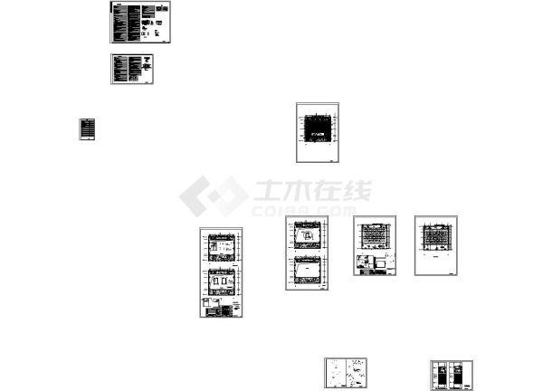 [施工图][北京]办公楼空调通风采暖设计施工图-图一