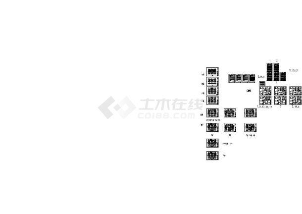 [天津]生态住宅小区给排水图纸(含计算书、中水系统、热水系统)-图一