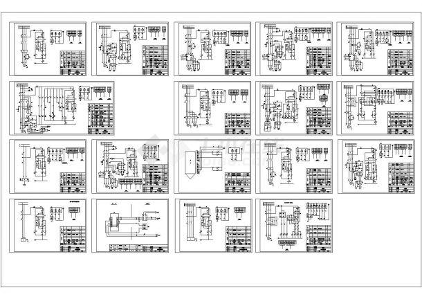 水泥厂电器原理图-图一
