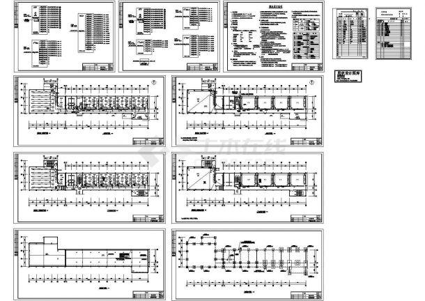 某中学教学楼电气设计cad施工图(甲级设计院设计)-图二
