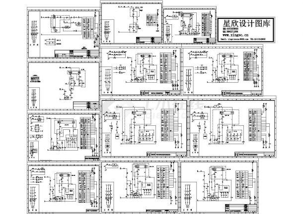 各种电机控制原理图cad版-图一