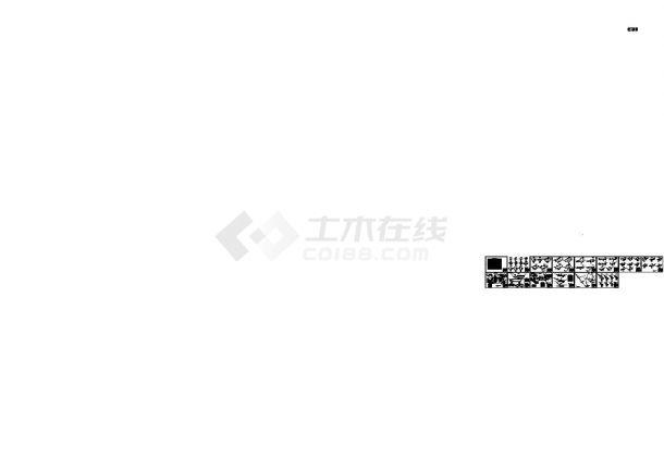 [四川]拦水坝工程施工CAD全套图纸-图一