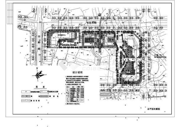 某电力局规划设计cad图(含总平面图)-图一