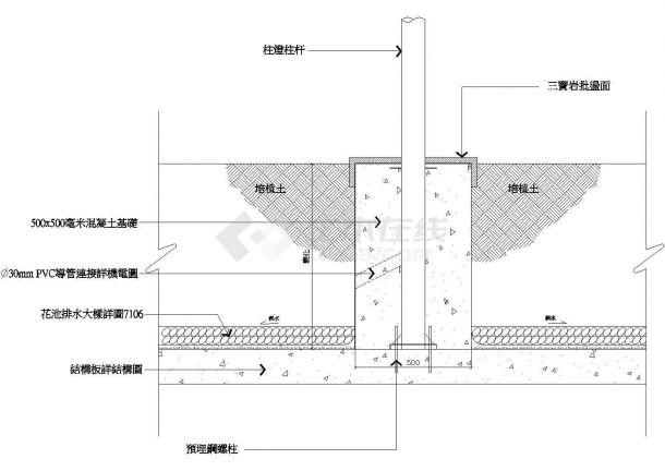 某地易道招商海月花園全套住宅楼施工设计cad图纸(含平面布置图)-图一