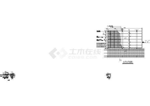 常用园林景观施 工图7平台栈道-图二