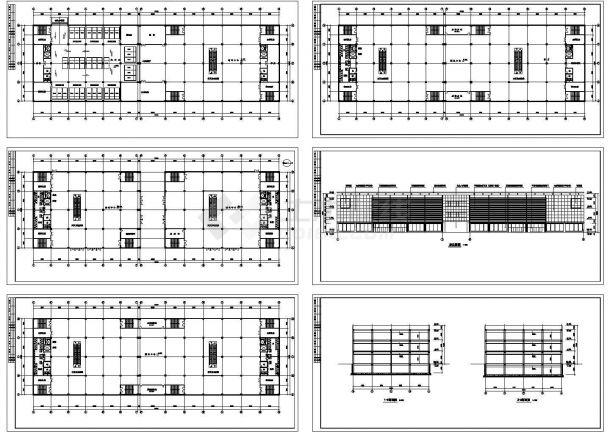 某大型商场装修方案修改CAD图-图一