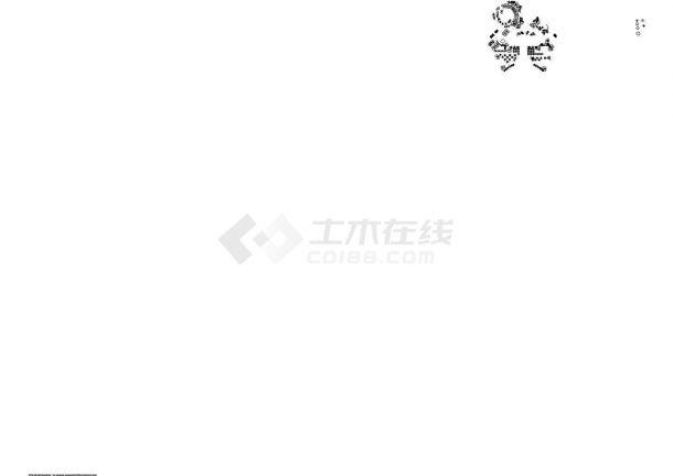 深圳某地星河·国际全套景观设计施工cad图(含平面布置图)-图二
