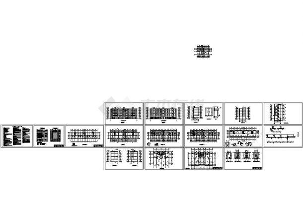 某六层商住(底商)住宅楼建筑施工图 (1),包含建 筑 设 计 总 说 明-图二