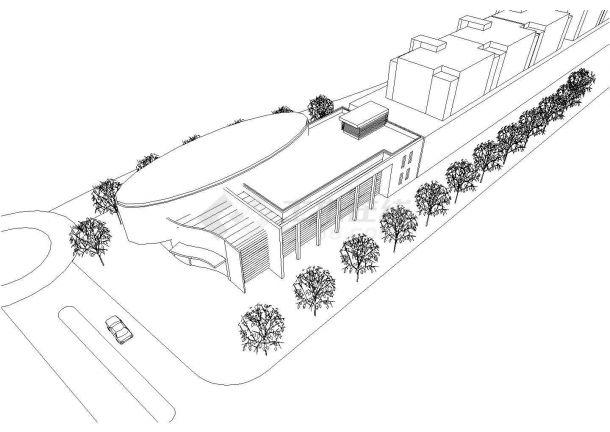 上海市松江区松新建17#地块商品住宅建筑设计图-图二