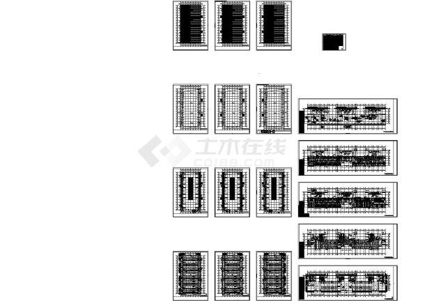 [江苏]文化会议展览馆空调通风及防排烟系统设计施工图(Cad设计图(某甲级院设计,标注详细)-图一