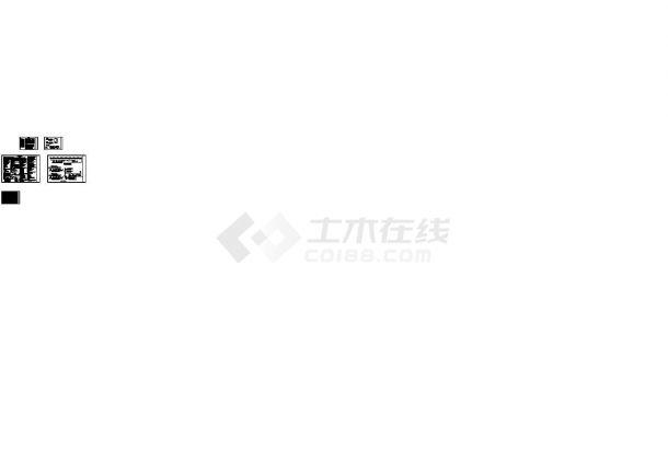 [江苏]文化会议展览馆空调通风及防排烟系统设计施工图(Cad设计图(某甲级院设计,标注详细)-图二