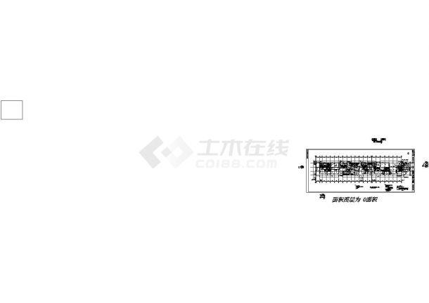 北京某地综合楼全套建筑施工设计cad图(含平面布置图)-图一