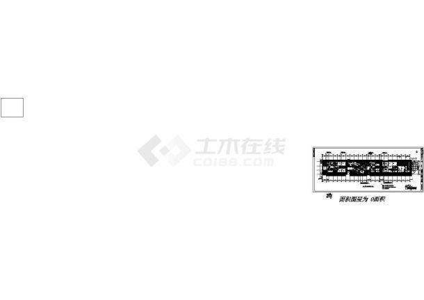 北京某地综合楼全套建筑施工设计cad图(含平面布置图)-图二