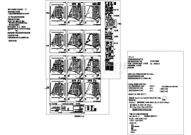 [牡丹江]某会展中心采暖空调施工设计图纸.cad施工图设计-图一
