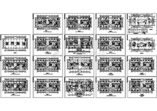 某二十层医院全套建筑设计施工图-图一