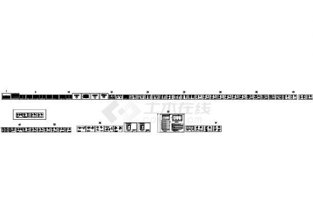 装配式建筑结构的说明、墙、梁、板构造(全部)节点大样cad图纸-图一
