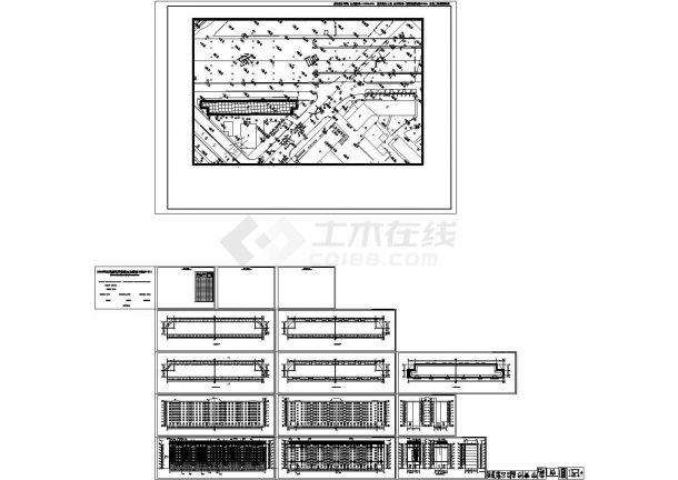 哈尔滨某地单栋房屋建筑外立面改造工程设计cad全套施工图(甲级院设计)-图二