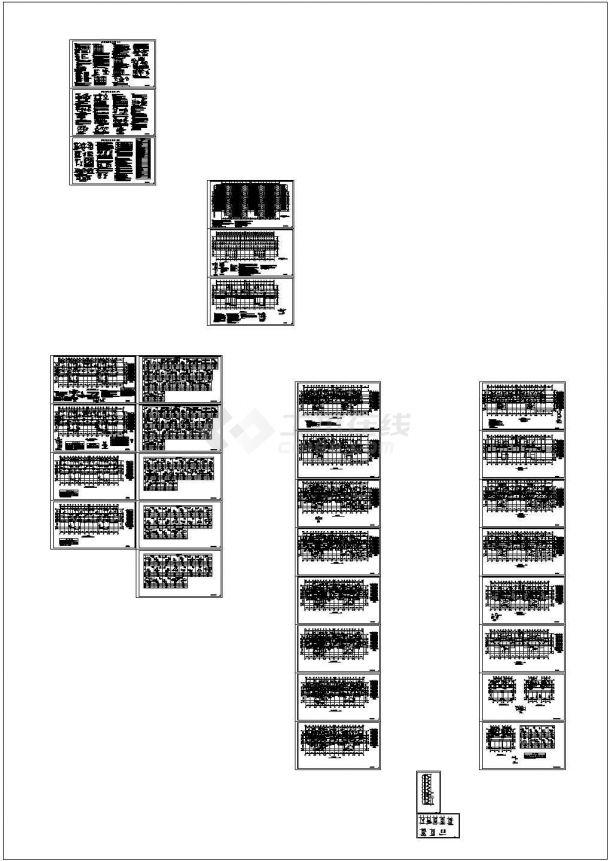 18层剪力墙结构住宅楼结构施工图_dwg-图二