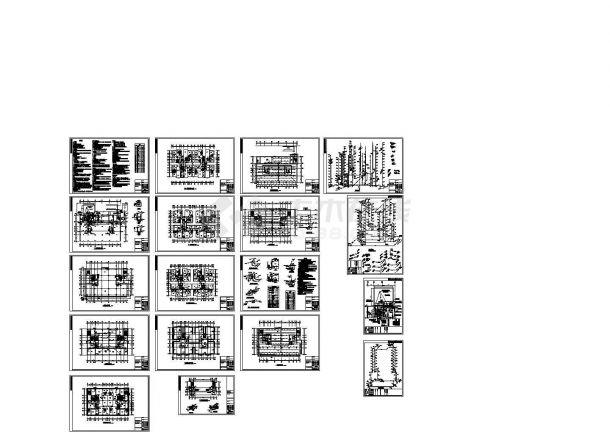 -1+12层商住楼给排水施工图(设计说明)-图一