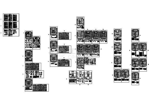 剪力墙结构住宅楼结构施工图(33层筏板基础)cad版-图一