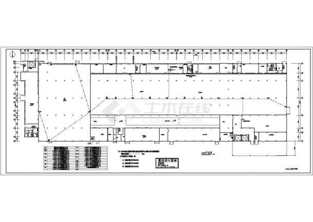 某工厂智能照明系统设计cad图(含总平面图)-图二